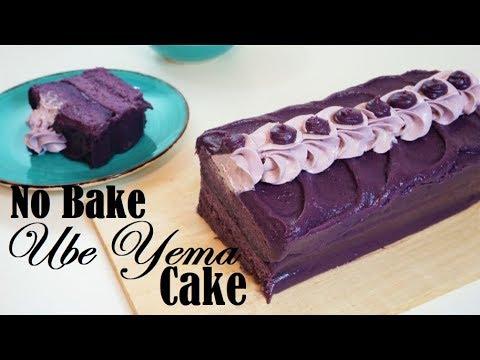 The Best Ube Yema Cake | No Bake | Purple Yam | Savor Easy