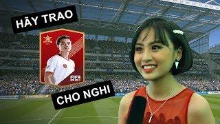 """MC MINH NGHI """"TỎ TÌNH"""" TUYỂN THỦ VĂN TOÀN TẠI SỰ KIỆN SINH NHẬT F04"""