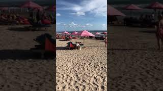 Double six beach in Bali island travel in Indonesia 2018