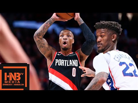 Philadelphia Sixers vs Portland Trail Blazers Full Game Highlights | 12/30/2018 NBA Season