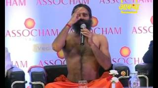 Illness to Wellness Assocham in New Delhi : Swami Ramdev   9 May 2015 (Part 2)