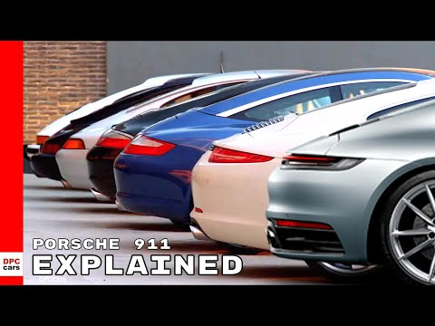 Porsche 911 Generations Explained