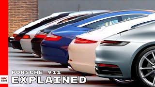 Porsche 911 Generations Explained