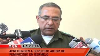 APREHENDEN A SUPUESTO AUTOR DE FEMINICIDIO EN BERMEJO
