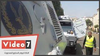 الهيئة العربية للتصنيع تسلم الداخلية 25 عربة مدرعة لدعم جهود الأمن