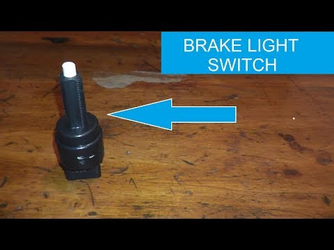 Brake Pedal and Brake Light Sensor Switch Testing and Replacement