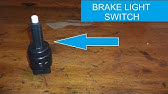 Pressure Brake Light Switch Test - YouTube