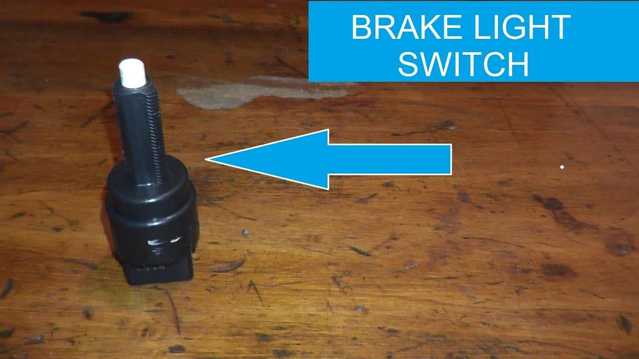 Brake Pedal And Brake Light Sensor Switch Testing And