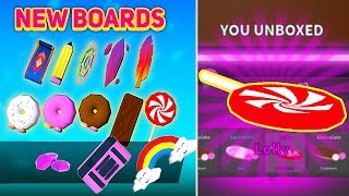 NEW UPDATE! NEW BOARD CRATES + CODES & GOT LEGENDARY HOVERBOARD LOLLY In GHOST SIMULATOR! [Roblox]
