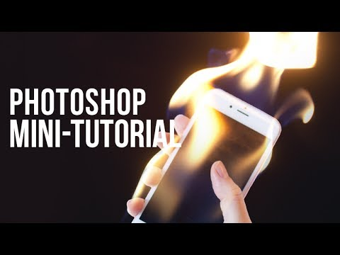 Photoshop Mini-Tutorial: Cell Phone Fire