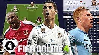 KHOẢNH KHẮC CHẤT VCL Với TEAM 1,7 TỶ Cùng Best ST C. Ronaldo TT -  P. Vieira TT & K. De Bruyne TT