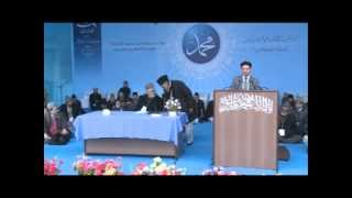 German Ahmadi Brother at Ahmadiyya Jalsa Qadian 2012