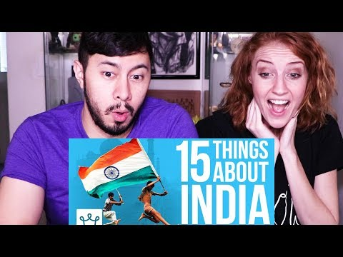 15 THINGS YOU DIDNT KNOW ABOUT INDIA | Reaction!