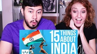 15 THINGS YOU DIDN'T KNOW ABOUT INDIA | Reaction!