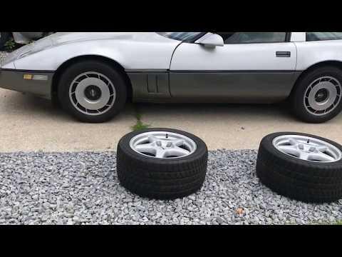 1985 Corvette Zr1 Wheel Swap C4