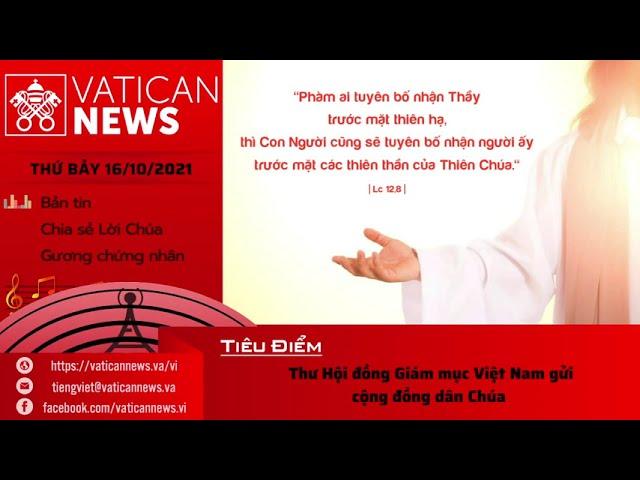 Radio thứ Bảy 16/10/2021 - Vatican News Tiếng Việt