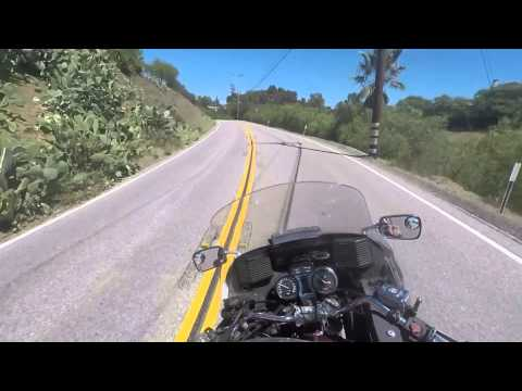 Malibu canyon to PCH then Decker home