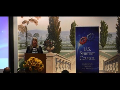 9th U.S. Spiritist Symposium: Communications of the Spirit Allan Kardec by Jussara Korngold