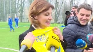 Марина Порошенко про фінал Ліги чемпіонів