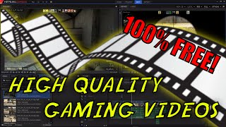 The Best FREE Video Editing Software for Gaming 2016!!!