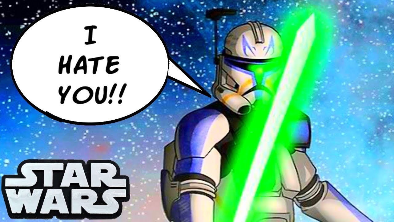 Why Captain Rex Hated Every Clone Commander Star Wars Explained