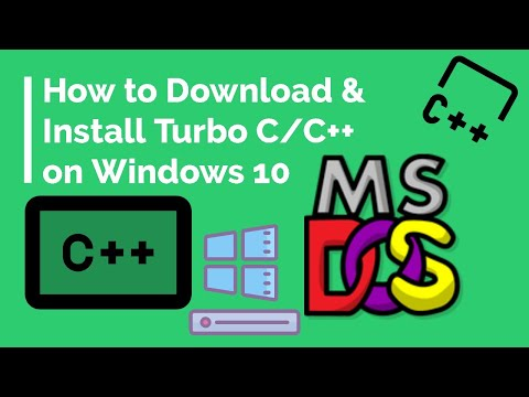 How To Download &  Install Turbo C/C++ On Windows 10