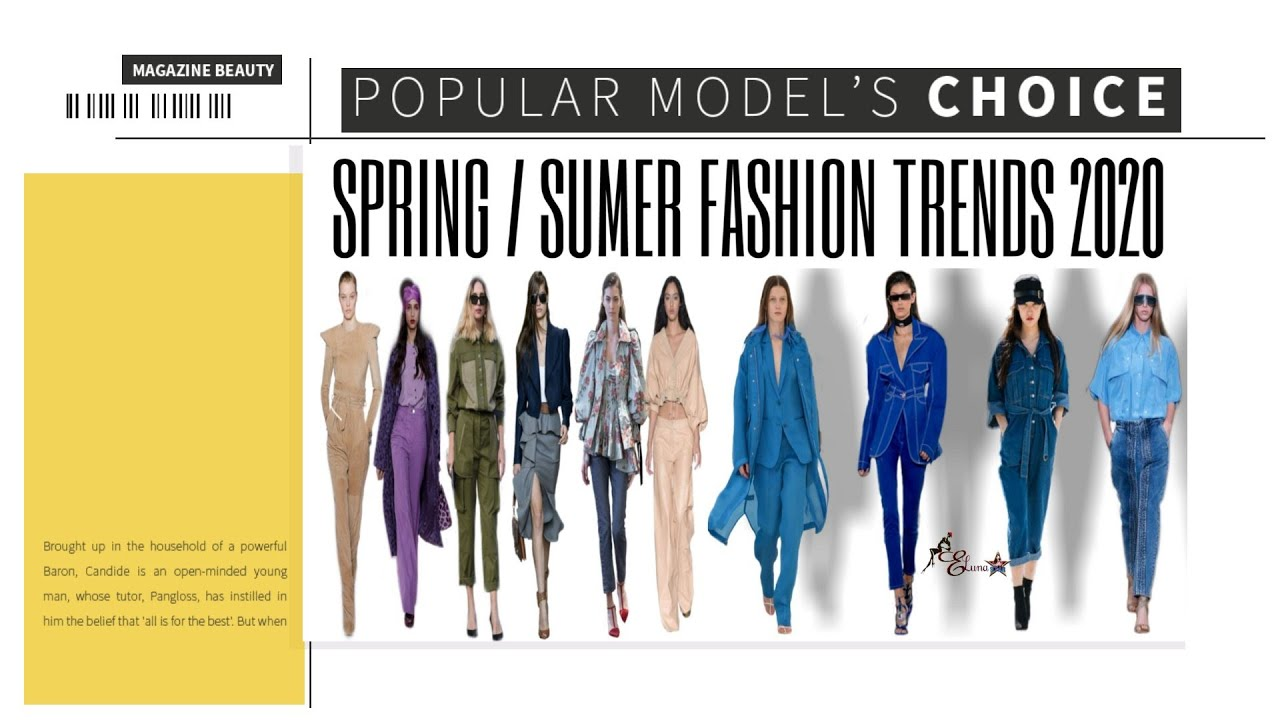 Beautiful Collections of Spring/Summer Fashion Trends 2020 | Office & Casual Wears
