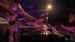 Louise Attaque & DJ Zebra @ Francofolies 2006