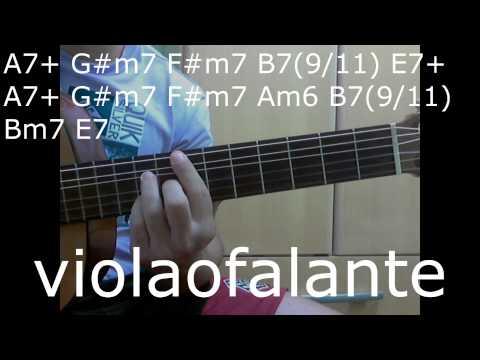 Os travessos - Não se sinta só  (violão)
