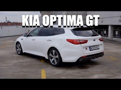 KIA Optima Sportswagon GT 245 KM PL test i jazda prbna