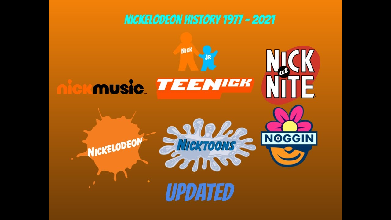 The Complete History Of Nickelodeon UPDATED 1977-2021 - YouTube