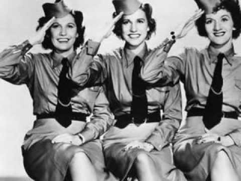 Andrews Sisters - Rum And Coca Cola (Rare DOT Recording)
