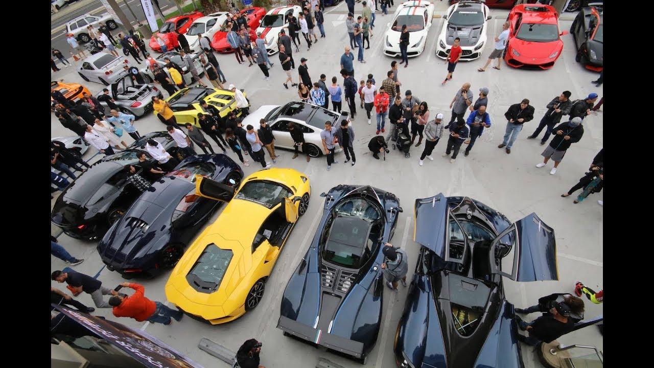 Ferrari Collector David Lee S Cars And Chronos Supercar Show May 2018 Youtube