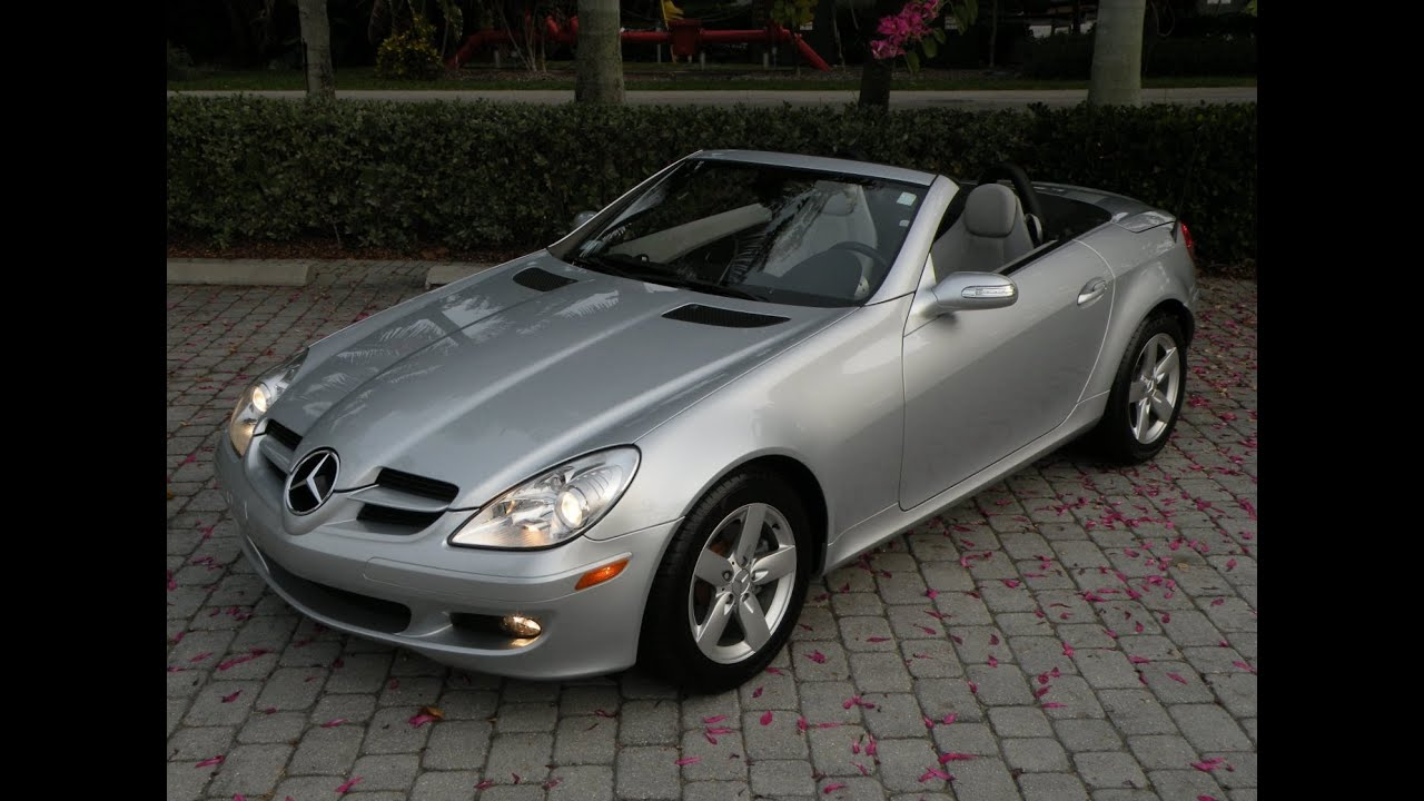 2006 mercedes benz slk class slk280 for sale in fort. Black Bedroom Furniture Sets. Home Design Ideas