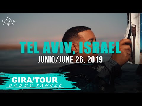 Daddy Yankee - Con Calma Gira/Tour Tel Aviv, Israel 2019