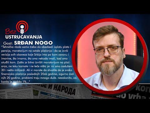 BEZ USTRUČAVANJA  Srđan Nogo: Kriminalci koji rade za Vučića će ga na kraju juriti po ulicama!