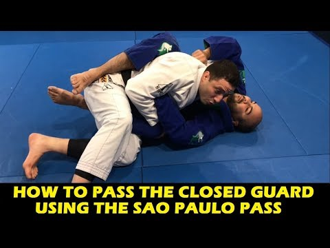 How To Pass The Closed Guard Using The Sao Paulo Pass by Leonardo Nogueira