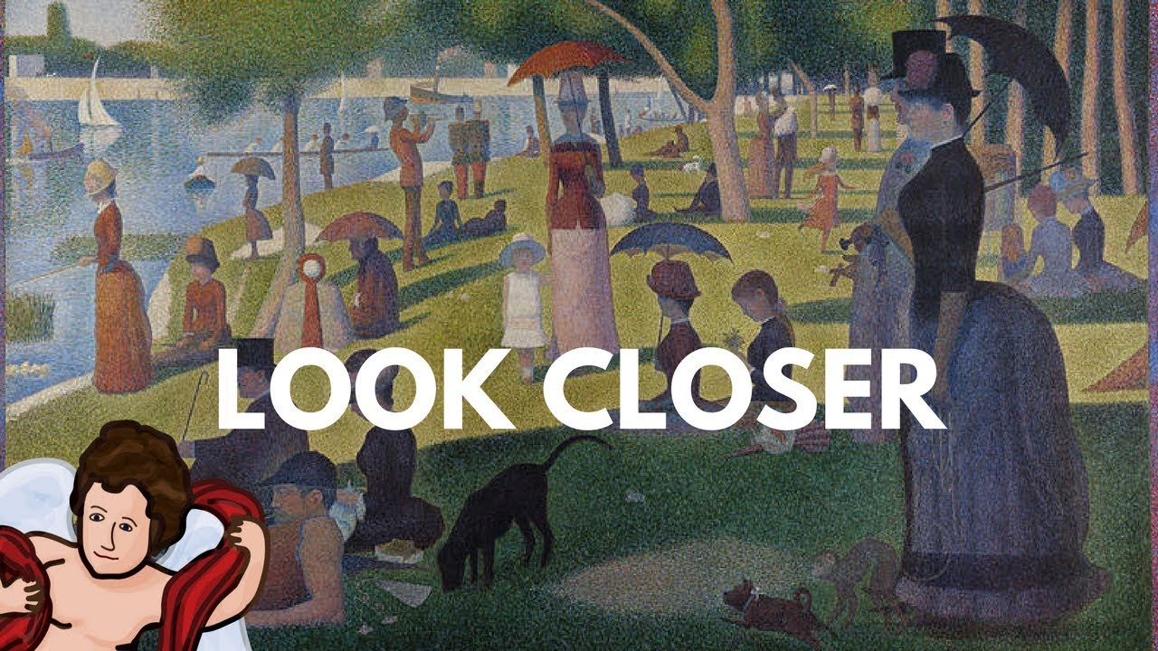 A Closer Look at a Well-Known Image: Sunday Afternoon On the Island of La  Grande Jatte
