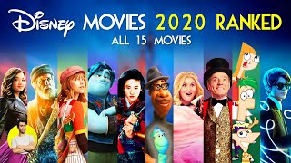 Disney movies 2020 - all 15 ranked worst to best (including pixar, plus, 20th century)