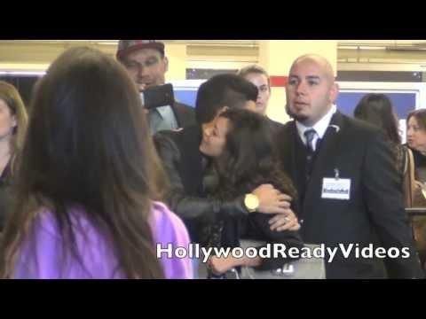 Roshon Fegan arrives at Justin Bieber's Believe premiere at Regal Cinemas LA Live in LA