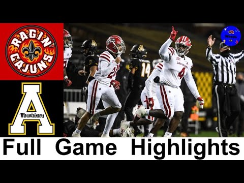 Louisiana Ragin' Cajuns vs. Appalachian State football video ...