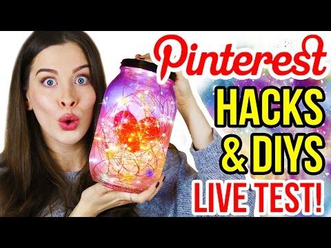 BESTE DIY WEIHNACHTSGESCHENKE IDEE unter 5€   Last Minute PINTEREST HACKS & DIYs im LIVE TEST!