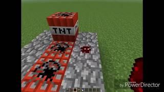 Minecraft. ПОКАЗЫВАЮ КАК СДЕЛАТЬ ОЧЕНЬ МОЩНУЮ ПУШКУ.