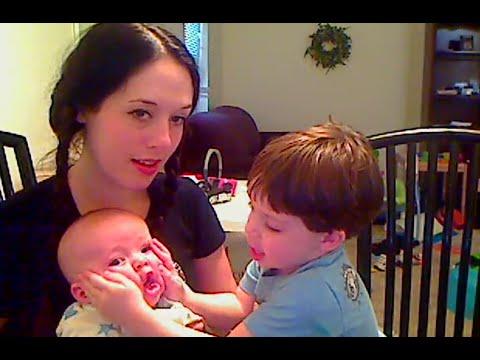 Tiny Rowan and Ivan 6 years ago today!