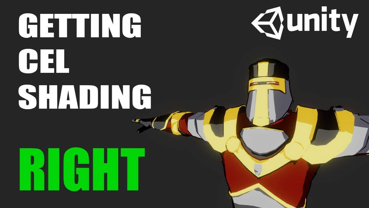 Unity3D - Getting Cel Shading right in Unity3D
