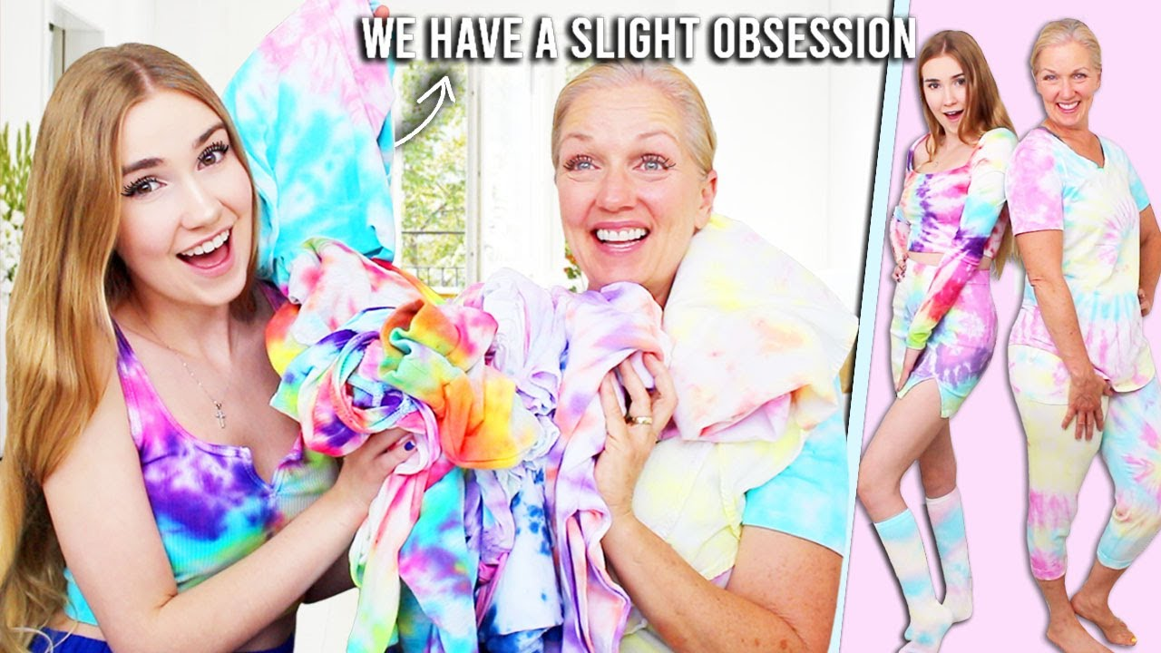 LET'S TIE DYE EVERYTHING IN SIGHT !!