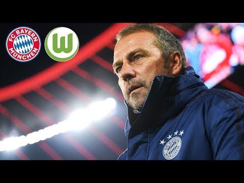 LIVE 🔴 FC Bayern Pressekonferenz mit Hansi Flick nach dem Spiel gegen den VfL Wolfsburg