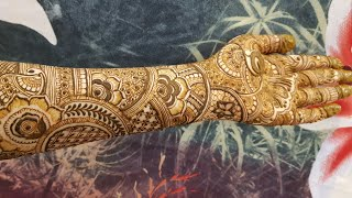 Bridal Henna Design 4 By Heena Vahid