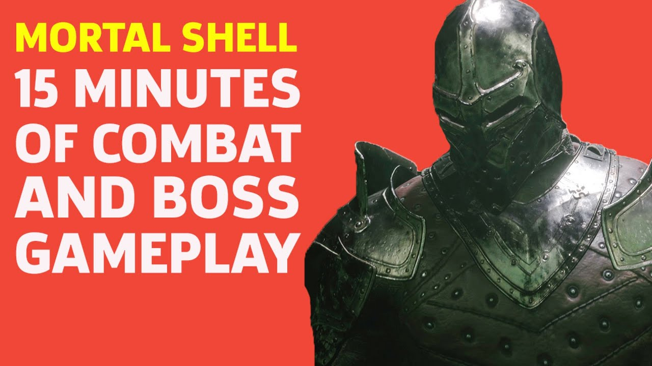 Mortal Shell - Souls Style Combat And Massive Boss Battle - GameSpot