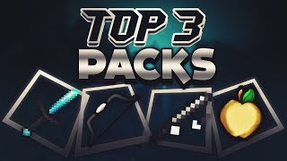 TOP 3 MİNECRAFT PVP TEXTURE PACKS ! [1.7/1.8] - MİNECRAFT SKYWARS
